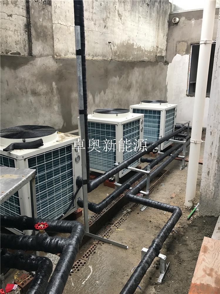 山东老年公寓15吨20匹空气能热泵热水工程