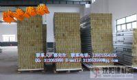 江苏欧泰50mm高强度机制岩棉彩钢夹芯板